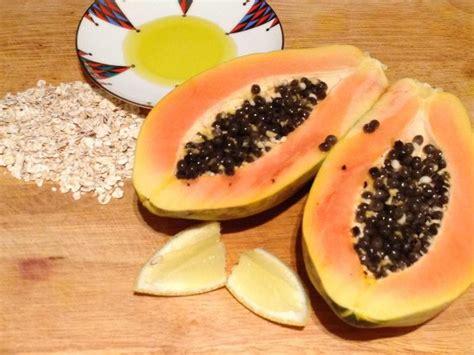 Papaya Home Made 9 papaya mask recipes