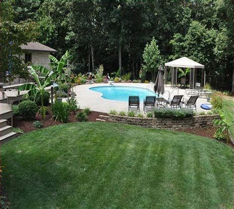 backyard with pool landscaping ideas backyard pool and landscaping ideas
