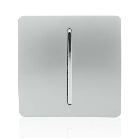 modern electrical switches trendi artistic modern glossy door tactile auto retractive bell switch silver dbsi