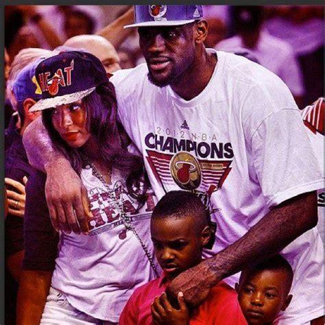 lebron james biography family lebron james and family miami heat fan for life pinterest