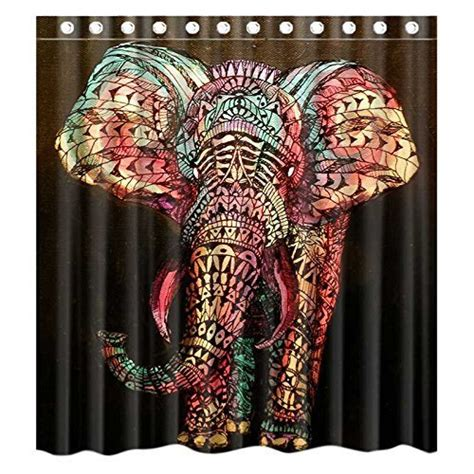 elephant curtains 13 elephant shower curtains you ll never forget offbeat