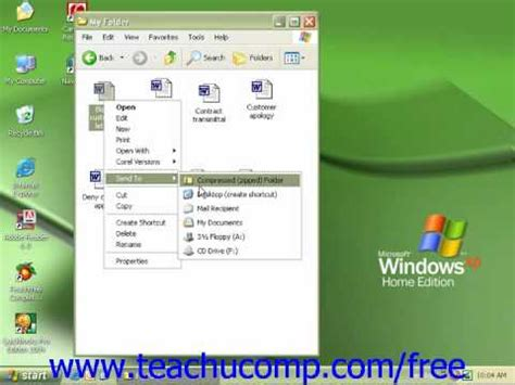 video tutorial xp windows windows xp tutorial copying a file to a floppy disk