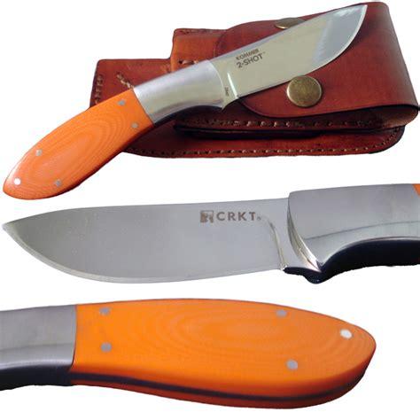 crkt kommer crkt kommer 2 fixed blade skinner w sheath 2840