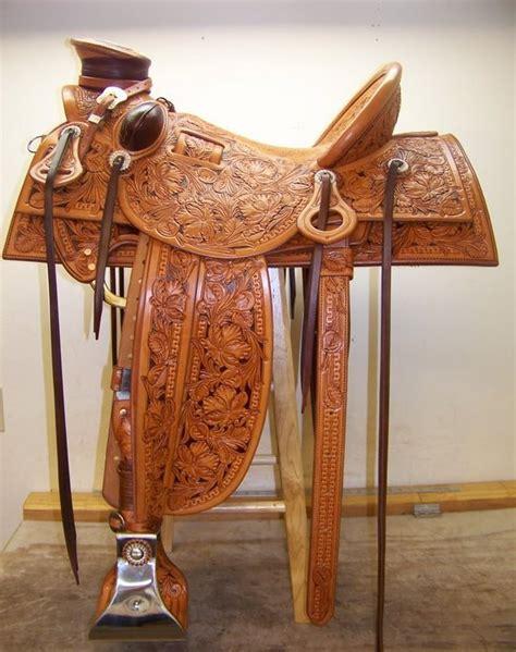 Handmade Tack - jeff hanson saddles cowboy showcase