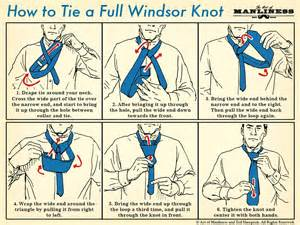 How to tie the full windsor knot the art of manliness