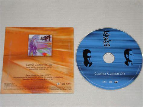 estopa camaron estopa como camaron cd promo bmg 1999 2001 120 00 en