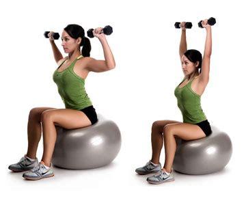 Dumbbell Chair Exercises by Strengthening Exercises For Back Neck Provided