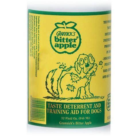 bitter apple spray for dogs grannick s bitter apple spray keepdoggiesafe