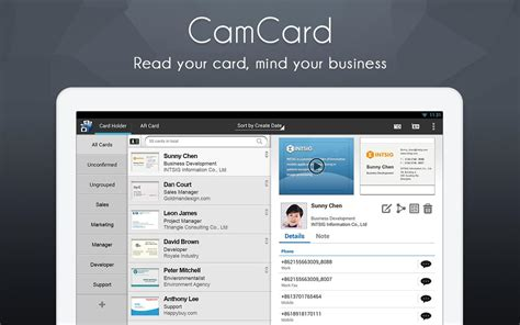 Gift Card Reader App - camcard business card reader android apps on google play
