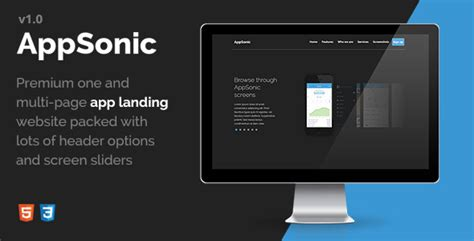 html templates for android apps 20 best technology landing page templates 2016 tutorial