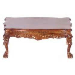 Hton Square Coffee Table Leg Coffee Table Platinum Collection Walnut Town Square Dollhouse Miniatures