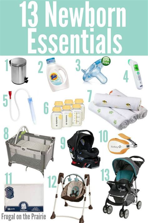 25 best ideas about newborn essentials list on
