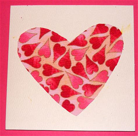 valentines day card template ks1 fabric card
