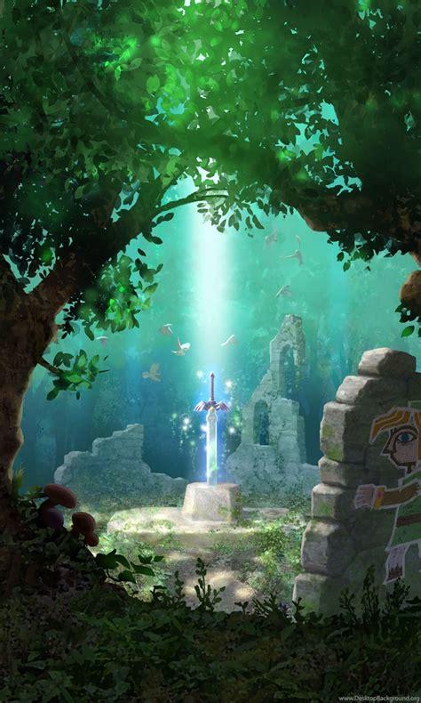 legend  zelda wallpaper art fantasy  legend  zelda desktop background