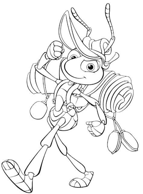 dibujos infantiles para colorear de hormigas bichos dibujos disney para imprimir y colorear lamina 16