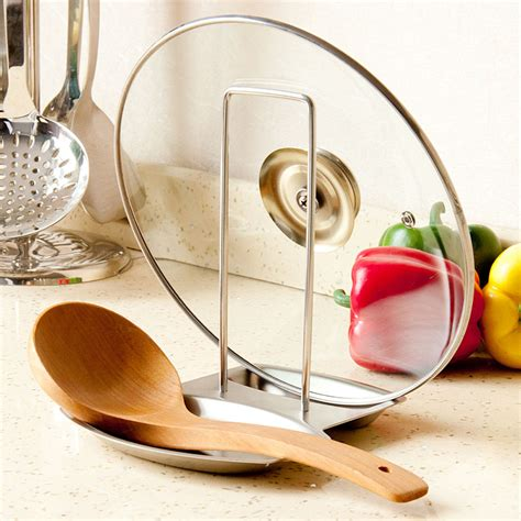 aliexpress kitchen accessories aliexpress com buy new stainless steel lid spoon holder