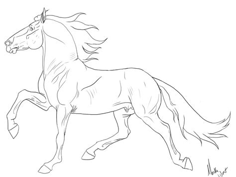 coloring pages of tennessee walking horses tennessee walker horse by xxkincadesvanityxx on deviantart