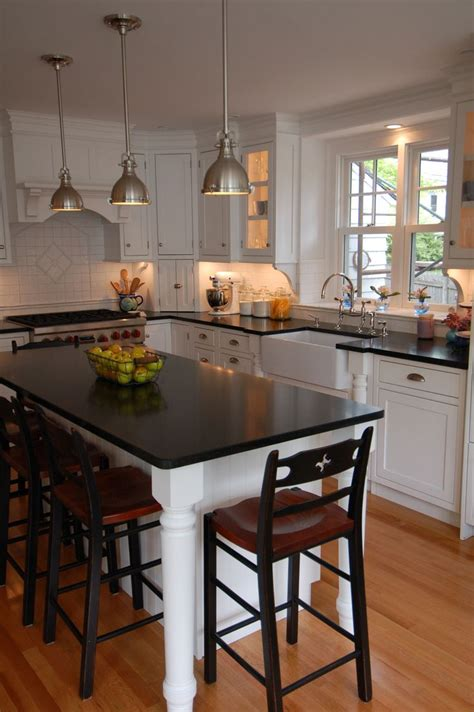 kitchen island with table attached home design