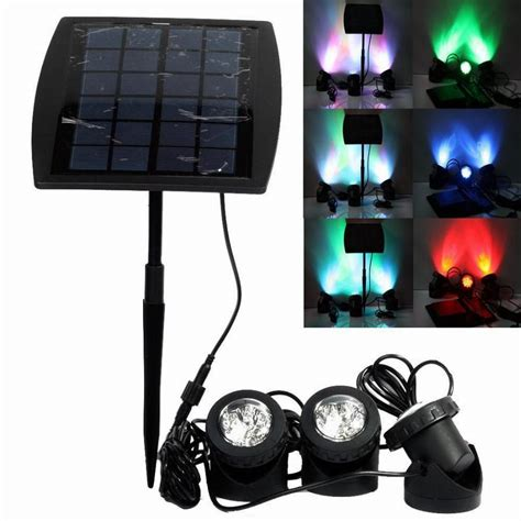 Outdoor Solar Net Lights Portable Outdoor Solar Power Led Lights Rgb Cold White Led Landscape Light Solar Garden L