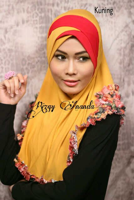 Nizam Khimar Phasmina syiria jelita gold toko jilbab branded instan kerudung terbaru jilbab