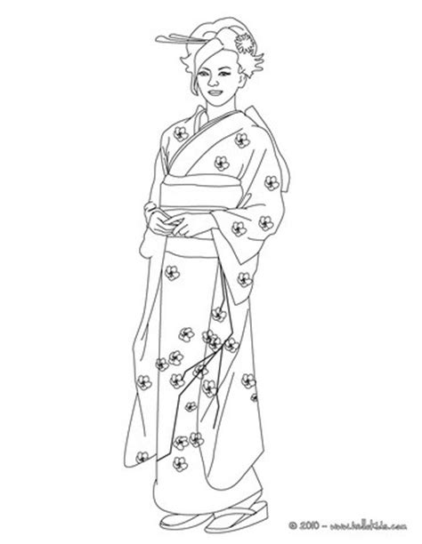 japanese princess coloring pages japanese princess coloring pages hellokids