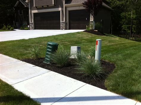 Landscape Ideas Around Utility Boxes Low Cost Landscape Ideas Winkler S Lawn Care Landscape
