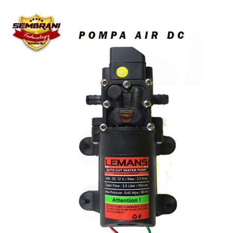 Pompa Air 12 Volt jual pompa air dc 12 volt sembrani technology
