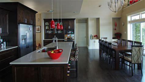 "Beautiful Nova Scotia kitchen features ""New York cabinetry"""