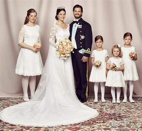 Latifa Silver Shofiya prince carl philip and princess sofia of sweden s official wedding photos released