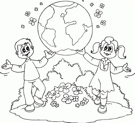 top 10 earth day coloring page for kids