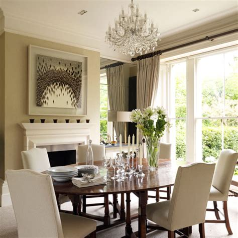 white themed dining room ideas classic dining rooms 10 of the best ideal home