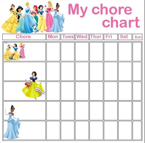 printable reward charts disney princess coloring pages for martha pinterest