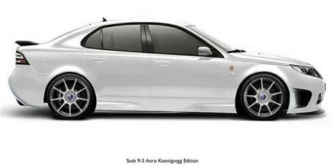 koenigsegg aero saab 9 3 aero k 246 nigsegg edition saab cars