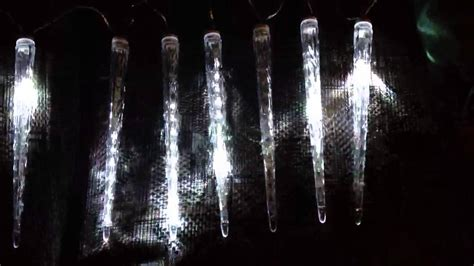noma cascading led icicle lights noma 8 icicle led lights