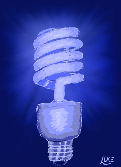 luke spence corel painter light bulb