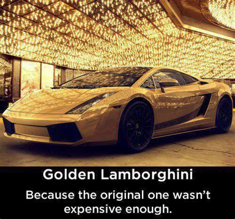 golden lamborghini pictures quotes memes jokes