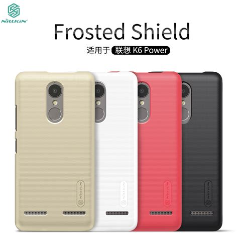 Nillkin Frosted Shield For Lenovo K6 Power Lenovo K6 Power Lenovo K6 Power Cover Nillkin
