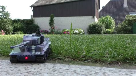 backyard mini r rc mini tank tiger 1 backyard test s idee 01197