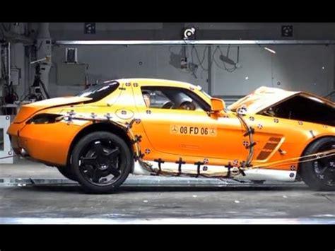 imagini mercedes sls amg crash test
