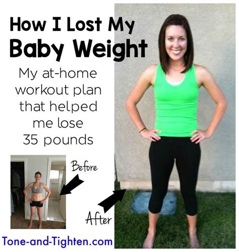 how one lost baby weight 35 lbs with this 8