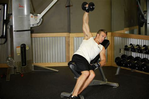 bent over lateral raises on incline bench one arm incline lateral raise exercise guide and video