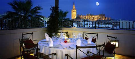 restaurant el mirador restaurant el mirador de sevilla hotel la r 225 bida vincci