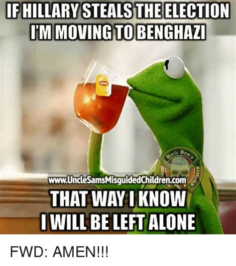 Benghazi Meme - if hillary steals the election discussionist