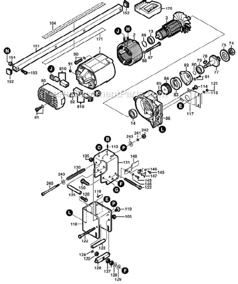 Skil 3400 Parts List And Diagram F012340002