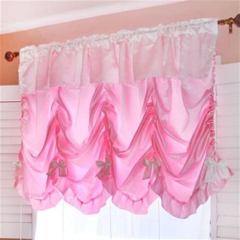 pink balloon curtains balloon shade curtain
