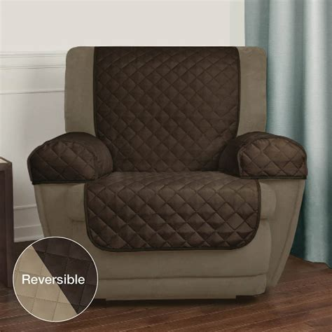 armchair caps new mainstays reversible microfiber fabric pet furniture