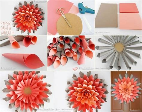 diy home crafts decorations diy paper craft projects home decor wreath