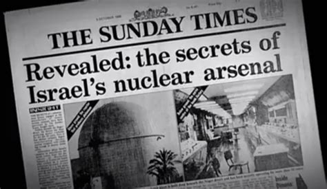 arsenal israel the truth about israel s secret nuclear arsenal