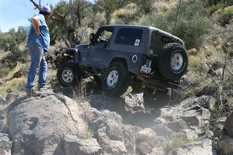 Buchanan Jeep Roughing It Smoothly Road