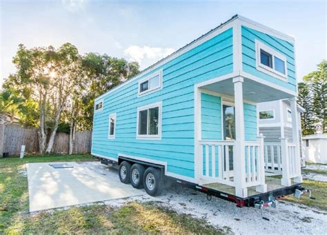 Small Homes For Rent In Sarasota Fl The Aqua Oasis Tiny House In Sarasota Sleeps Up To Six